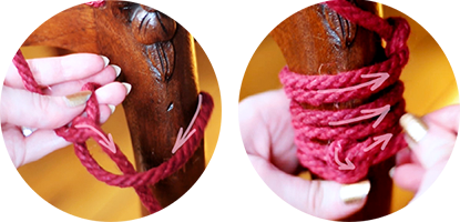 Magic Wand rope tutorial steps